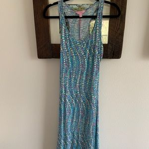 Lilly Pulitzer Racerback Maxi.  Size Small.